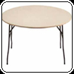 Round table 5ft 6in diameter